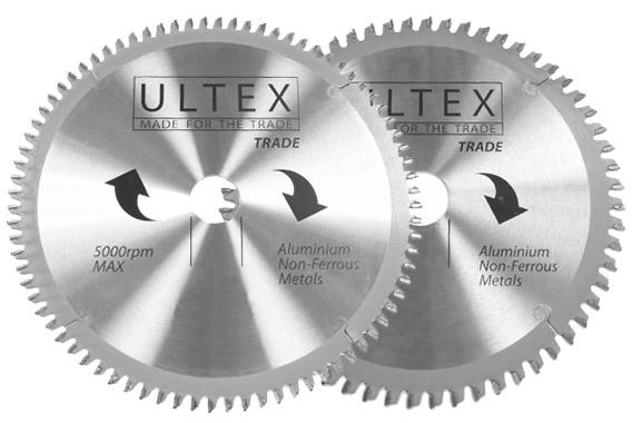 Ultex Aluminium Circular Saw Blades