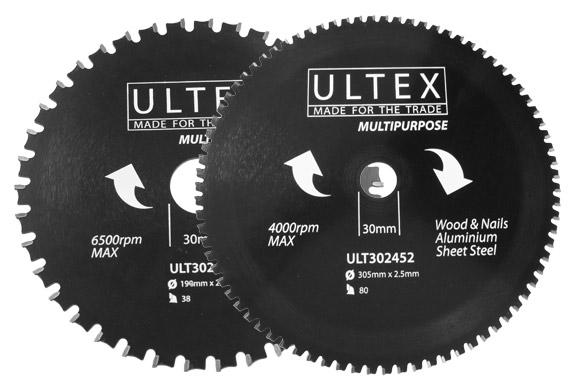 Ultex Multipurpose TCT Blades